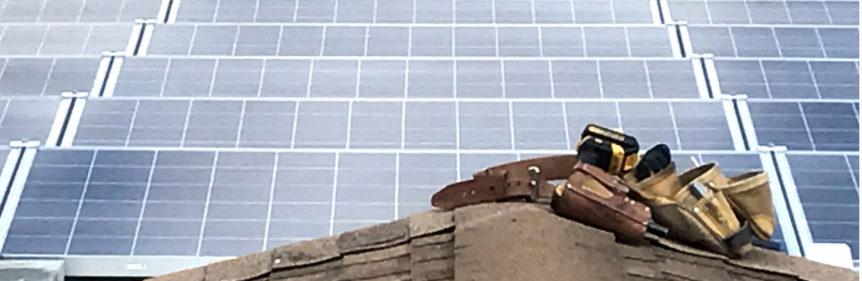 PlugPVs Hanwha Q Cell solar array