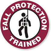 Fall Protection Trained Logo